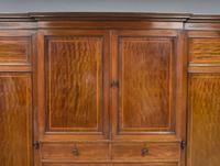 19th Century Mahogany Breakfront Wardrobe (5 of 12)