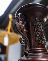 Victorian Japanese Bronze Table Lamp Base (2 of 3)