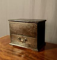 Early Nineteenth Century Miniature Pine Mule Chest (2 of 8)