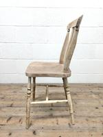 Set of Four Antique Farmhouse Dining Chairs (7 of 8)