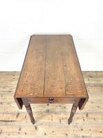 Antique 19th Century Welsh Oak Pembroke Table (5 of 10)