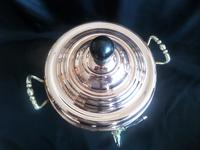 Victorian Samovar / Tea Urn in Copper with Brass Handles professionally polished recently (4 of 6)