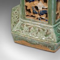 Antique Plant Stand, English, Ceramic, Decorative, Hall, Jardiniere, Victorian (8 of 12)