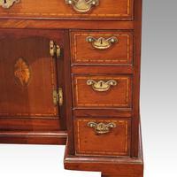 George III Inlaid Kneehole Desk (6 of 17)