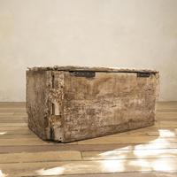 19th Century Rustic Painted Country House Trunk - Coffee Table (14 of 16)