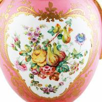 Victorian Coalport Porcelain Vase & Cover (5 of 8)