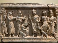 Gandharan Frieze Section with Buddha (2 of 4)