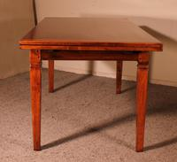 Extending Table in Cherry Wood-19th Century - Louis XVI-france (3 of 11)