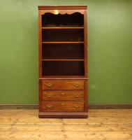 Tall Narrow Alcove Bookcase Shelving Cabinet by Thomasville Furniture USA (2 of 10)