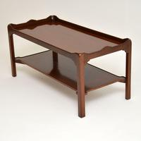 Chippendale Style Mahogany Coffee Table c.1930 (3 of 7)