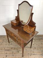 Edwardian Inlaid Mahogany Dressing Table (5 of 10)