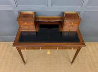 Edwards & Roberts Inlaid Mahogany Writing Desk (2 of 20)