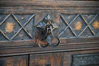 Gothic Revival Oak Cupboard (6 of 12)