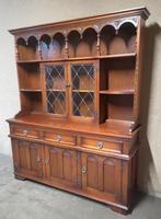 Wood Bros Old Charm Oak Dresser Tudor Brown (2 of 11)