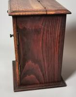 Antique Victorian Oak Smokers Cabinet (8 of 12)