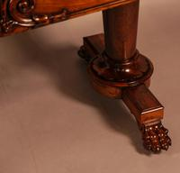 Fine William IV Library Table in Rosewood (5 of 10)