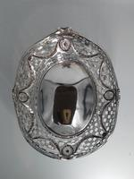 Edwardian Solid Silver Basket, London 1893 (2 of 6)