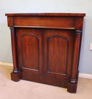 Antique Mahogany Chiffonier Sideboard Base (4 of 8)