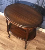 Edwardian Mahogany Occasional Table (3 of 6)