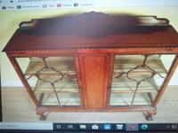 Astragal Display Cabinet. Victorian c.1880 (4 of 8)