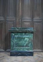 Original Painted Marble Pedestal (3 of 6)