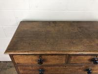 19th Century Antique Oak Chest of Drawers (6 of 13)