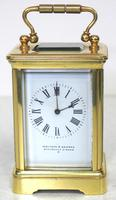 Antique Miniature 8 Day Carriage Clock by Walters & George Regent Street Rare (12 of 14)