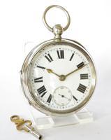 Antique Silver Ehrhardt Pocket Watch, 1919 (2 of 6)