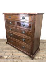 Large Late Victorian Mahogany Chest of Drawers