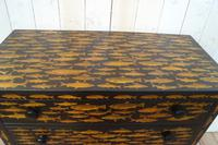Victorian Chest of Drawers with Fish Decoupage (2 of 11)