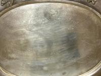Large Danish Sporting Victorian 19th Century Danish Silver Plate Salver (25 of 31)