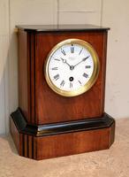 Walnut Timepiece Mantel Clock (10 of 14)
