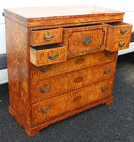 Beautiful 1880's Satin Birch Chest Drawers (3 of 6)