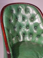 Good & Original George III Period Mahogany Library or Desk Chair (2 of 6)