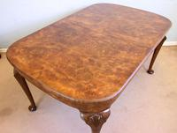 Quality Antique Burr Walnut Dining Table (4 of 14)