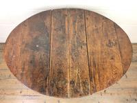 18th Century Antique Oak Gateleg Table (4 of 10)