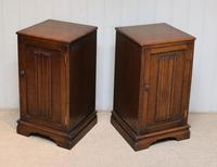 Pair of Oak Bedside Cabinets (9 of 12)