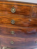 George III Bow Chest of Drawers (9 of 14)