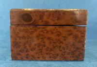 Victorian Burr Cedar Jewellery Box (9 of 11)