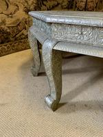 Indian Silvered Coffee Table (3 of 6)