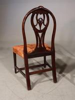 Good Late 18th Century Pair of Mahogany Hooped Back Single Chairs (5 of 5)