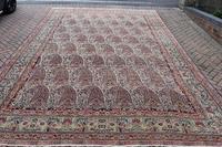 Antique Lavar Kirman Carpet 480x300cm (9 of 13)