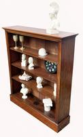 Victorian Mahogany Open Bookcase (3 of 5)