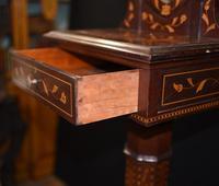 Antique Dutch Marquetry Vanity Hat Stand - Mirror (8 of 19)
