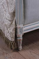Pretty Pair of Matching French Upholstered Single Beds (4 of 6)