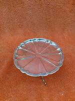 Antique Sterling Silver Hallmarked 1909 Bon Bon Dish as Table, Synyer & Beddoes (2 of 11)