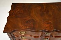 Antique Burr Walnut Low Boy Side Table (6 of 11)