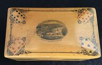 Victorian Mauchline Playing Card Box. (2 of 4)