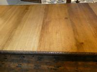 Large 19th Century Oak Table by James Cawley (5 of 9)