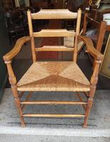 Antique Country Armchair (3 of 8)